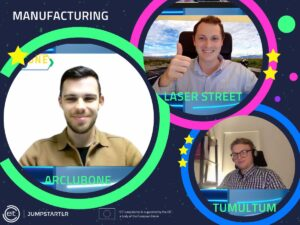 ArcLub One winning the Manufacturing category at EIT Jumpstarter 2021